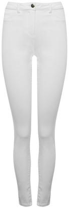 M&Co White super skinny jeans