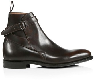 Church's Bletsoe Buckle-Strap Leather Boot