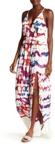 Young Fabulous & Broke Plane Crisscross Strap Maxi Dress