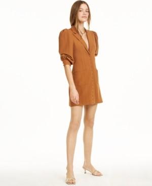 Macy's Danielle Bernstein Pinstripe Tuxedo Mini Dress, Created for
