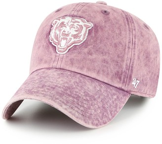 Women's '47 Purple Chicago Bears Snow Cone Clean Up Adjustable Hat