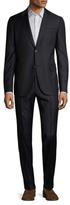 Gucci Wool Pinstripe Notch Lapel Suit