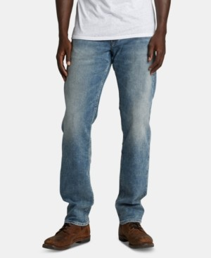 Silver Jeans Co. Men's Eddie Relaxed Stretch Jeans