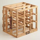 Cost Plus World Market Wood Crate Wine Rack