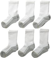 Gold Toe Boys' Athletic Crew Socks (Pack of 6)