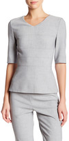 HUGO BOSS Iopela V-Neck Blouse