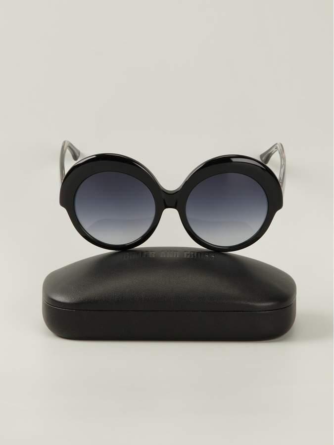 Cutler & Gross oversized frame sunglasses