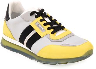 Bally Men's Astfeld Colorblock Trainspotting-Stripe Sneakers