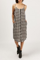 Azalea Checkered Strappy Dress