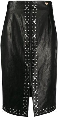 Twin-Set Studded Pencil Skirt