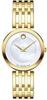 Movado Esperanza Mother-of-Pearl Analog Bracelet Watch