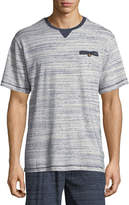 Majestic International Rye Melange-Knit T-Shirt