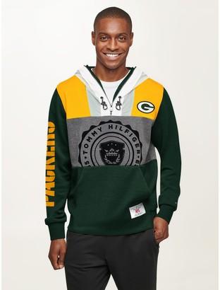 Tommy Hilfiger Green Bay Packers Double-Hood Hoodie