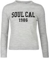 Soul Cal SoulCal Logo Knit Sweater