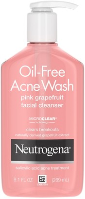 Neutrogena Oil Free Acne Wash Pink Grapefruit Facial Cleanser