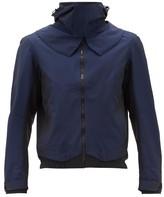 Sease - Wind Seeker Hooded Technical-ripstop Jacket - Mens - Blue