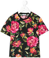 Dolce & Gabbana rose pattern T-shirt