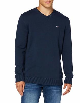 Tommy Jeans Men's TJM Essential V-Neck Sweater
