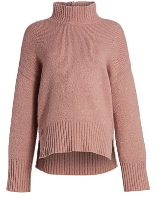 Frame Virgin Wool-Blend Turtleneck Sweater