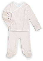 Ralph Lauren Infant's Two-Piece Kimono Top & Pants Set