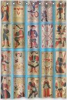 Tarot Cards Shower Curtain Custom Unique Design Tarot Cards Waterproof Fabric Shower Curtain, 72 by 48-Inch