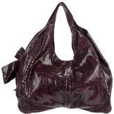 Valentino Python Nuage Bag