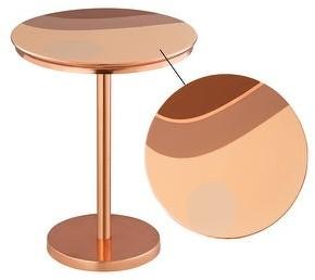 TOV Furniture Sunset Handpainted Side Table