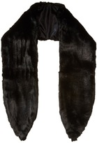 Michael Stars Faux-Real Faux Fur Scarf