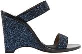 Sonia Rykiel Blue Leather Sandals