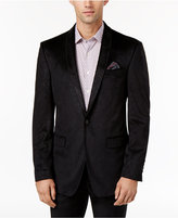Tallia Men's Big & Tall Slim-Fit Purple Melange Sport Coat