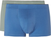 Sunspel - Two-pack Stretch-cotton Boxer Briefs