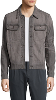 William Rast Men's Erwin Faded Denim Jacket