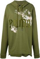 Puma Fenty embroidered graphic hoodie - women - Cotton - M