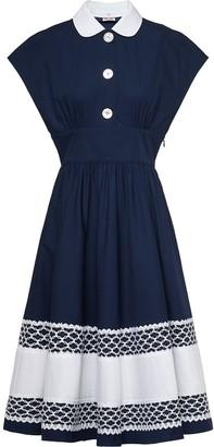 Miu Miu Poplin Flared Dress