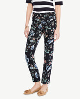 Ann Taylor Tall Devin Wild Flower Cropped Pants