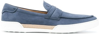 Tod's braided detail loafers