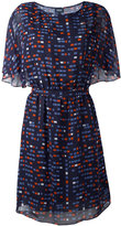Armani Jeans printed flowy dress - women - Polyester - 44