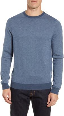 Nordstrom Bird's Eye Crewneck Sweater