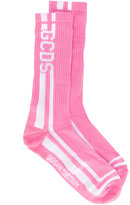 Gcds - logo striped socks - men - Cotton/Polyamide/Spandex/Elastane - One Size