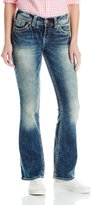 Silver Jeans Junior's Suki Mid Rise Bootcut Jean