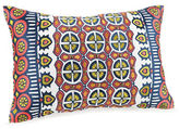 Trina Turk Hollyhock Ikat Kaleidoscope Decorative Pillow