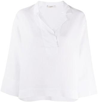 Odeeh Wrap Collar Shirt