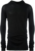 Rick Owens hooded jumper - men - Virgin Wool - 44