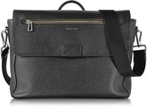 Paul Smith Black Grainy Leather Men's Messenger Bag