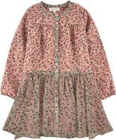 Twin-Set Printed crepe dress