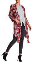 Anama Pattern Pocket Kimono