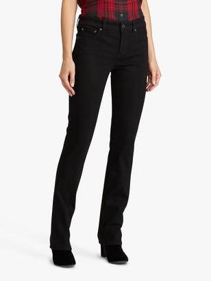 Ralph Lauren Ralph Premier Slim Straight Leg Jeans, Perfect Black Wash