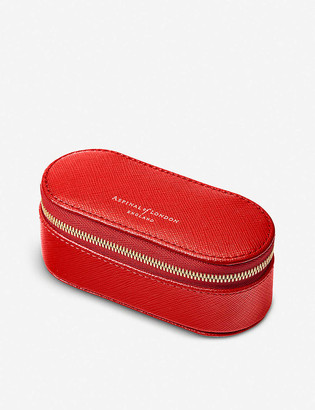 Aspinal of London Saffiano leather handbag tidy-all