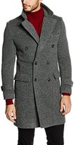 Benetton Men's 2R2Ysk0O8 Long Sleeve Coat