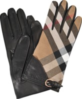 Burberry House Check Kat Medium Lenght Gloves